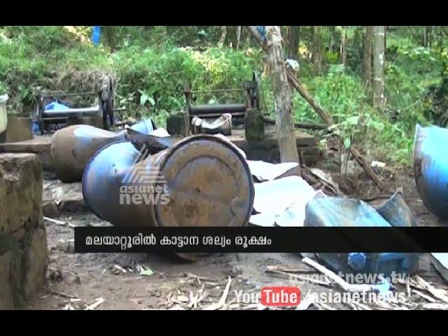 Wild Elephant Attack in Malayattoor Neeleeswaram