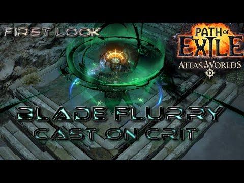 Poe Blade Flurry Hc Build