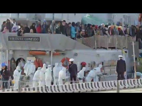 2 survivors of migrant boat disaster arrested