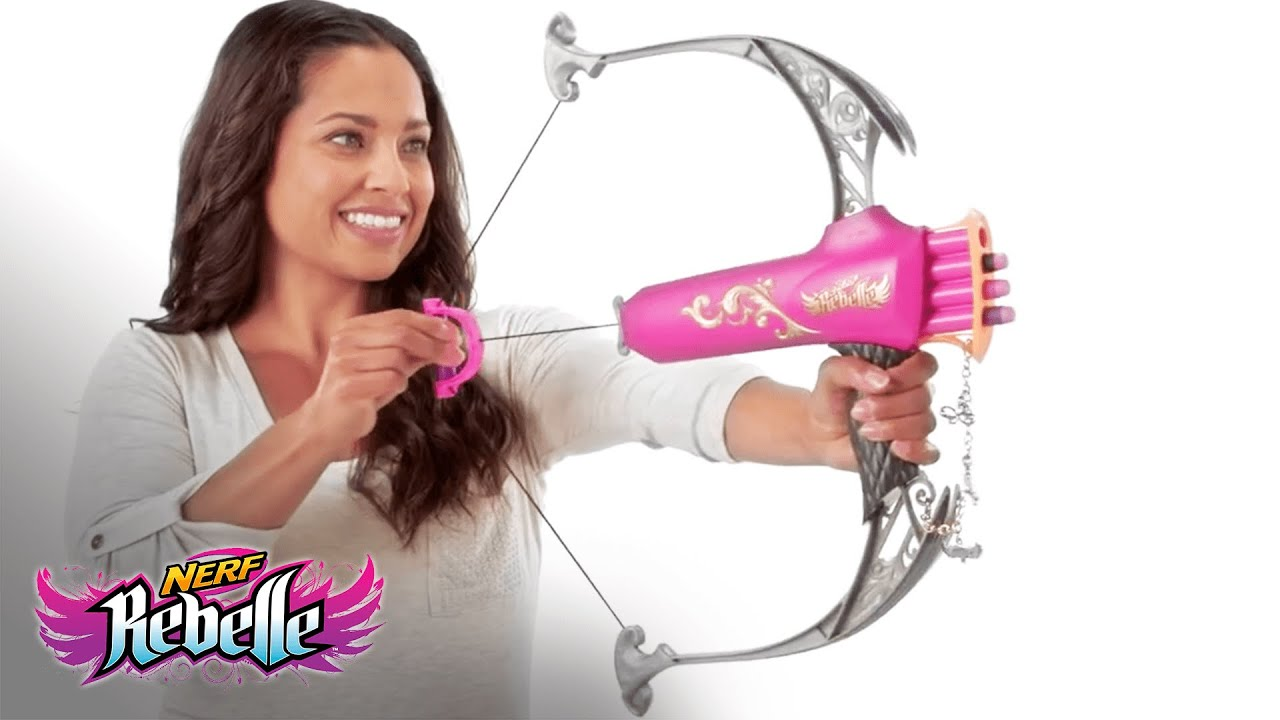 nerf rebelle bow instructions