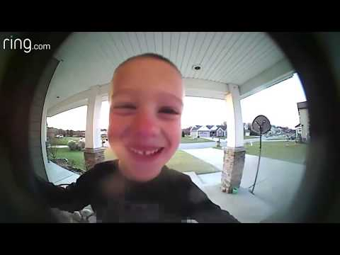 Dave & Jenn - Kid Uses Ring Cam To Get Some Help From Dad