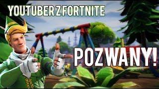 YOUTUBER Z FORTNITE POZWANY!