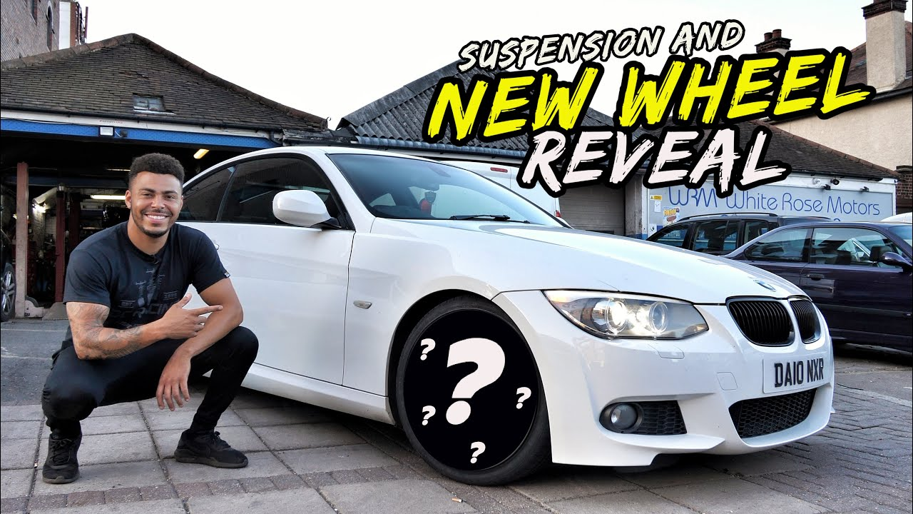 SAVAGE NEW SHOES & SUSPENSION ON THE HIGH MILEAGE BMW 335D!!