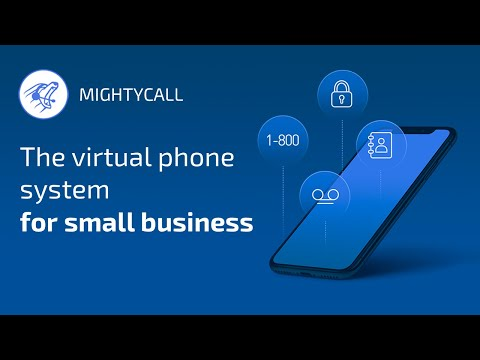 MightyCall' s virtual phone system for small business.