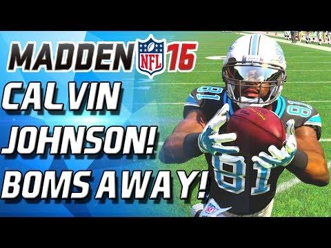 CALVIN JOHNSON DEBUT! BOMBS AWAY!  - Madden 16 Ultimate Team