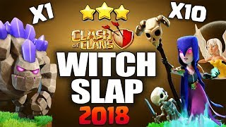 WitchSlap GoWiWi TH9 Attack Guide for Perfect War | TH9 STRONG WAR ATTACK STRATEGY Clash of Clans