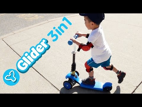 y-volution-y-glider-3-in-1-scooter- -unboxing-review-family-fun-time- -lucas-&-ryan- -lrh-&-toyz