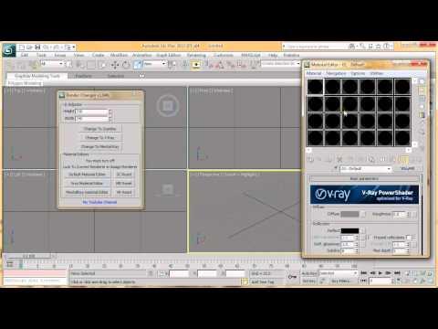 3dsmax Change Render Script HD