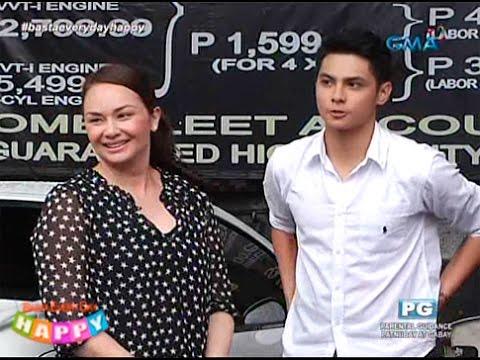 Donita meets ex Gary's son Kiko Estrada