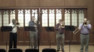 Flor Peeters - Suite: Quatuor pour 4 trombones, Op. 82: Mvt I