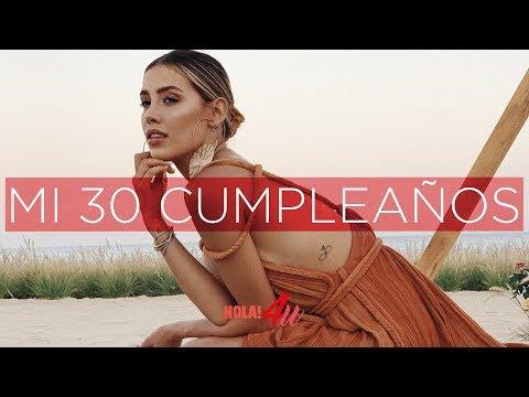 Mi 30 cumpleaños   Con Michelle Salas