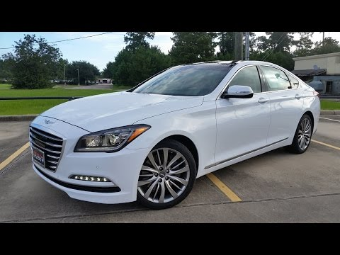 2017 Genesis G80 5.0 Ultimate Start Up Full Review