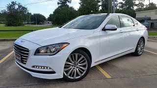 2017 Genesis G80 5.0 Ultimate Start Up/ Full Review