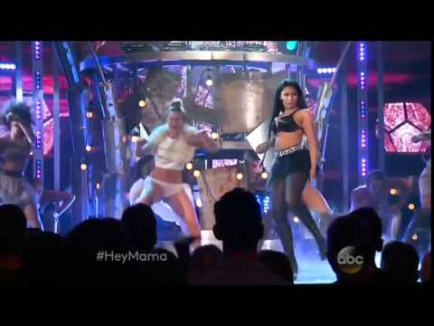"""Nicki Minaj&David Guetta """"Hey Mama"""" Billboard Music Awards 2015"""