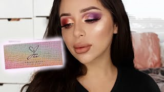 JACKIE AINA EYESHADOW PALETTE | REVIEW + SWATCHES + TUTORIAL