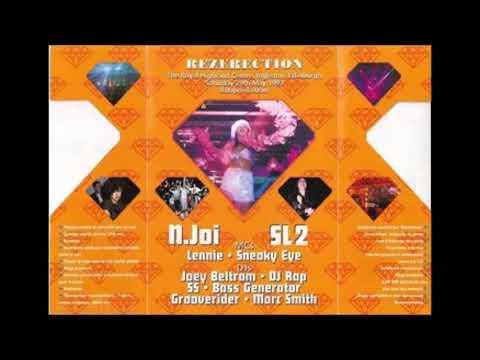 JOEY BELTRAM @ REZERECTION - DIAMOND 1993 - 30 Minute Old Skool Techno DJ Mix