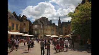 Domaine de Mathevies Campsite and Sarlat le Canedet, Dordogne, France, August 2016