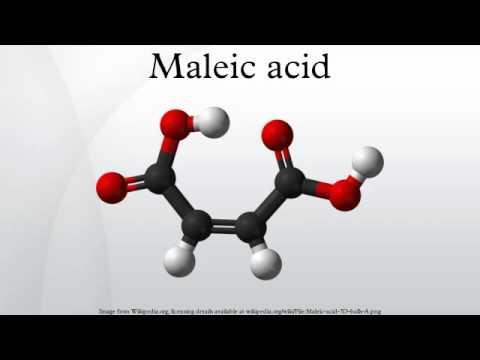 maleic acid youtube