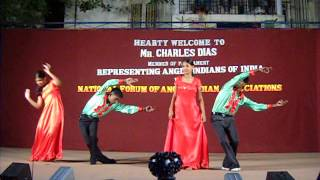 Hema (Vinod) School Dance (Punnagai Mannan Music)