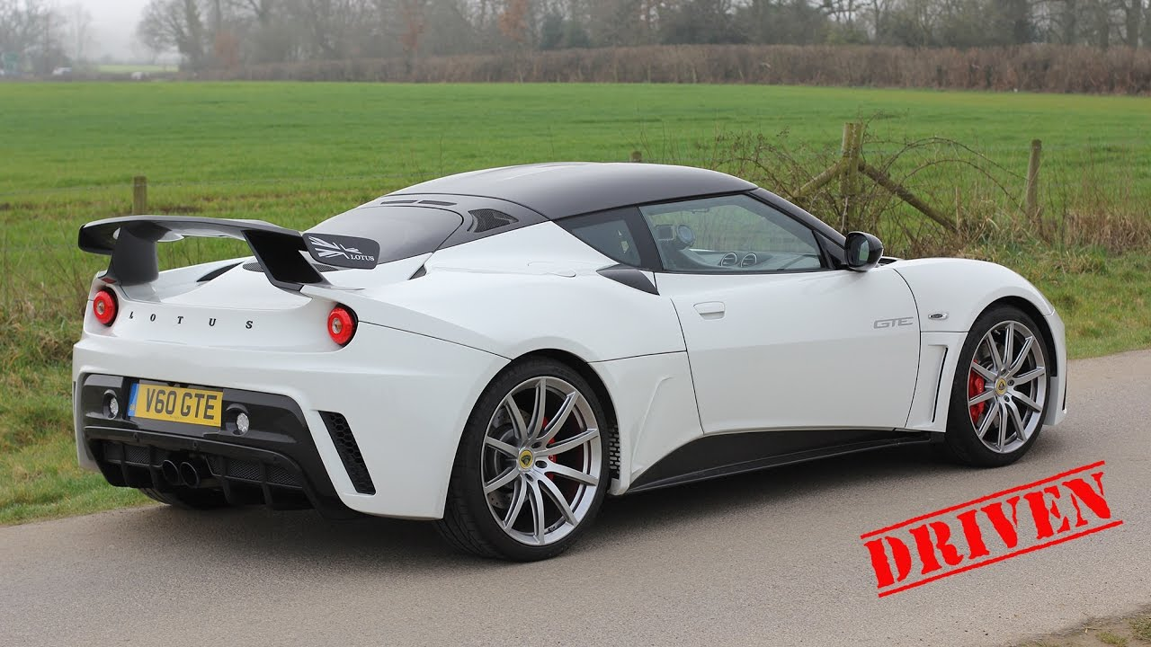 Lotus Evora GTE - Driven - YouTube