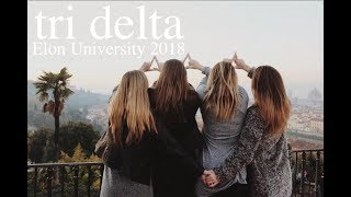 Tri Delta - Elon University PR Video 2018