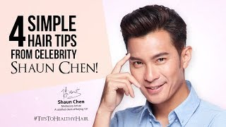 Celebrity: 陈泓宇 (Shaun Chen) 护发秘诀 | For Thicker Hair | Hair Care Tips
