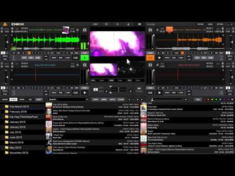PCDJ DEX 3 - 'Video Link' Feature Demonstration