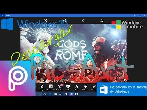 Descargar PicsArt Para Windows 10 Universal