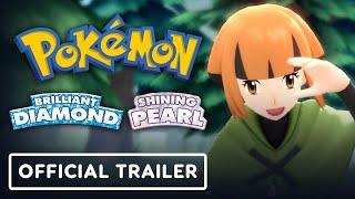 Pokemon Brilliant Diamond & Shining Pearl News - Official Trailer