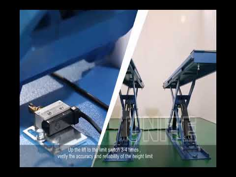 How To - Assembling & Installing U-B30Y Scissor Car Lift