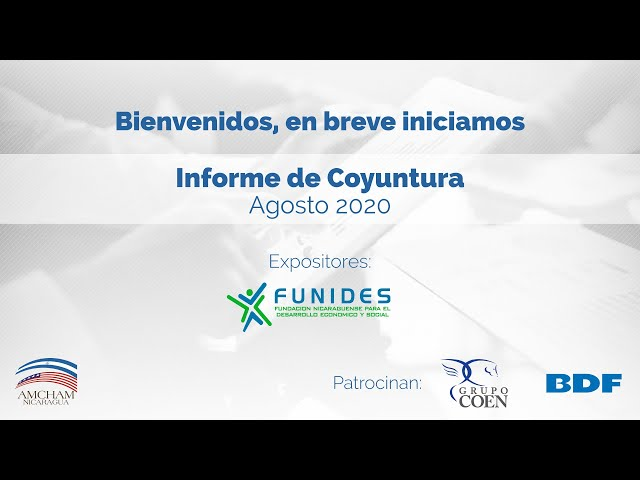 Informe de Coyuntura - Agosto 2020