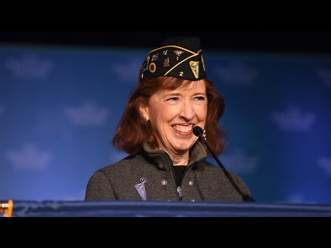 Diane Carlson Evans - 2018 American Legion Washington Conference Commander's Call
