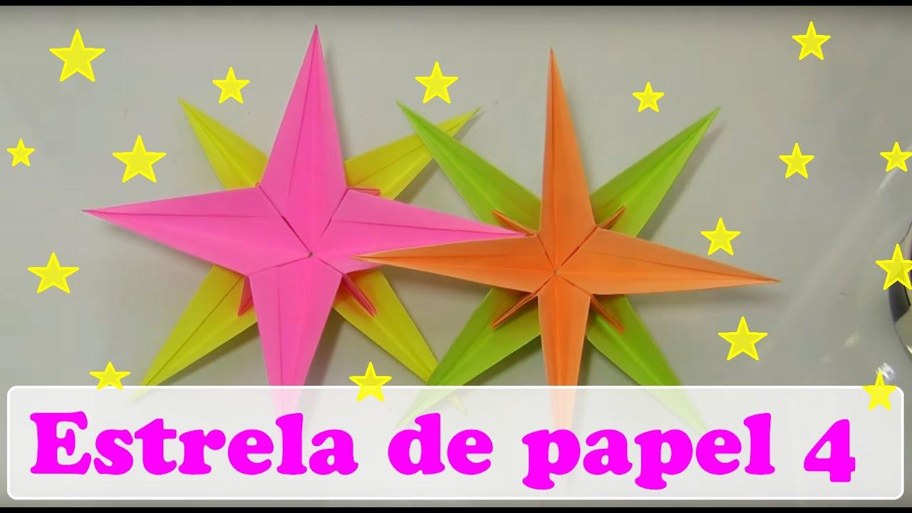 estrela de papel modular   rosa dos ventos   vers o 4