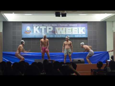 Synchronized Swimming, KTP week, Tuikual Branch 2016