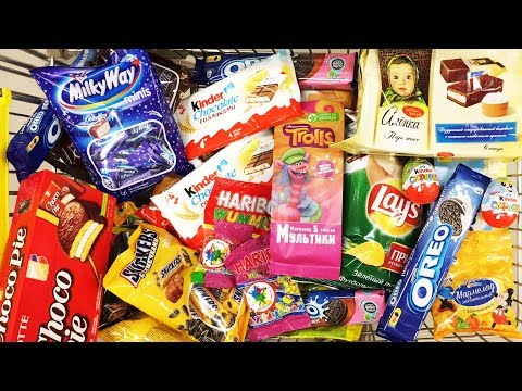 A Lot Of Candy 2018 NEW #89 Киндер...