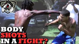Should I Punch to the Body in a Street Fight?