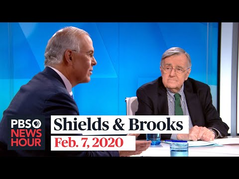 Shields and Brooks on Trump's acquittal, Iowa caucus chaos