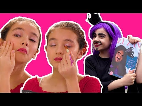 PRINCESS MORNING ROUTINE 💆Malice's Pamper Goes Wrong - Princesses In Real Life | Kiddyzuzaa