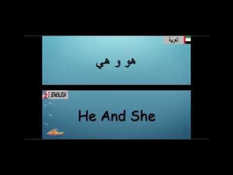 Lesson 1 الدرس (English/Arabic ) Learn English/Arabic تعلم اللغة الإنجليزية والعربية