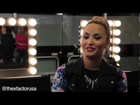 Demi Lovato Talks Niall Horan At 'X Factor' Auditions Providence