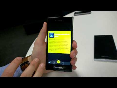 BlackBerry Leap Hands-On Walkthrough - uSwitch.com
