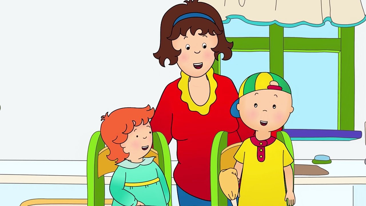 Caillou 2017 new season caillou helps mommy cartoons for Craft shows on tv