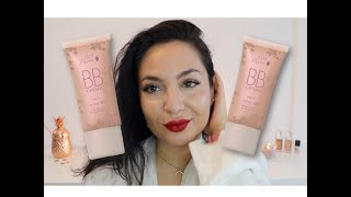 20 Aglow VS 30 Radiance Non-toxic 100%pure BB Cream Swatches & Review on medium tan olive skin//ROSE