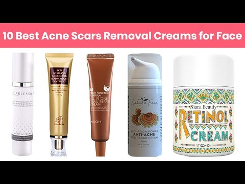 10 Best Acne Scars Removal Creams for Face 2018 | Also Fade Dark Spots, Sun Spots, Tan, Wrinkles etc
