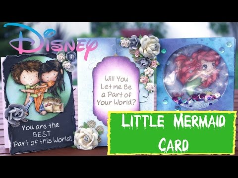 Disney Cards - AND Part of Your World Cover