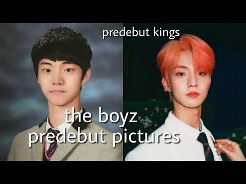 the boyz predebut pictures