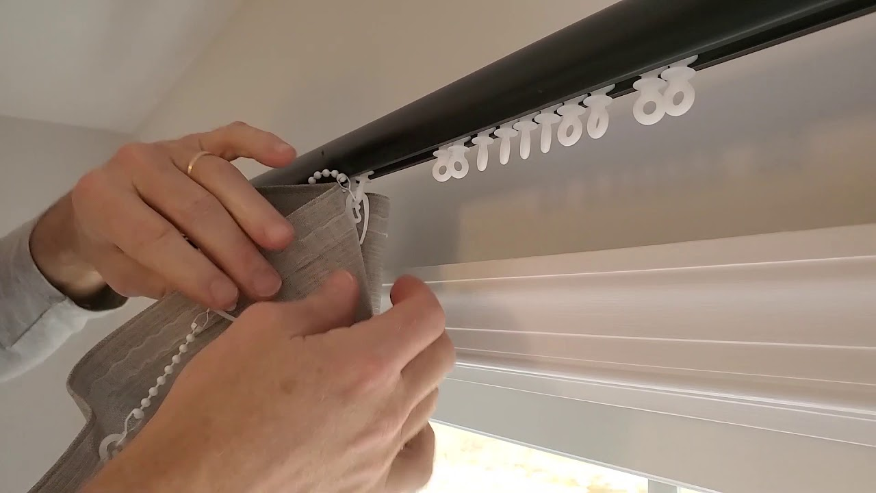 installation instructions curtain rod