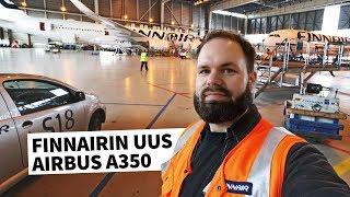 Tältä näyttää Finnairin uusi Airbus A350 XWB