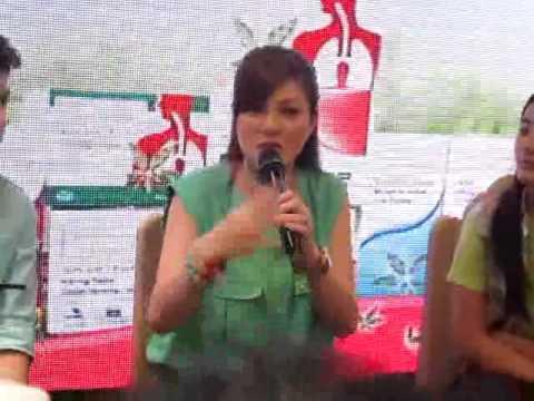 Carmina Villarroel and her twins Cassy & Mavi talk about their veggie diet
