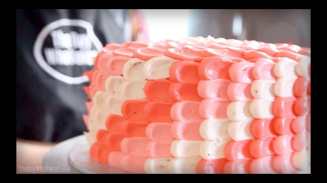 How To Make Butter Icing To Decorate Cake